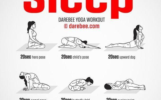 9 Postures de Yoga contre le Stress et les Insomnies (à essayer d'urgence !)
