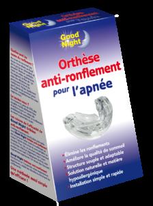 Orthèse d'avancée mandibulaire anti-ronflement Good Night